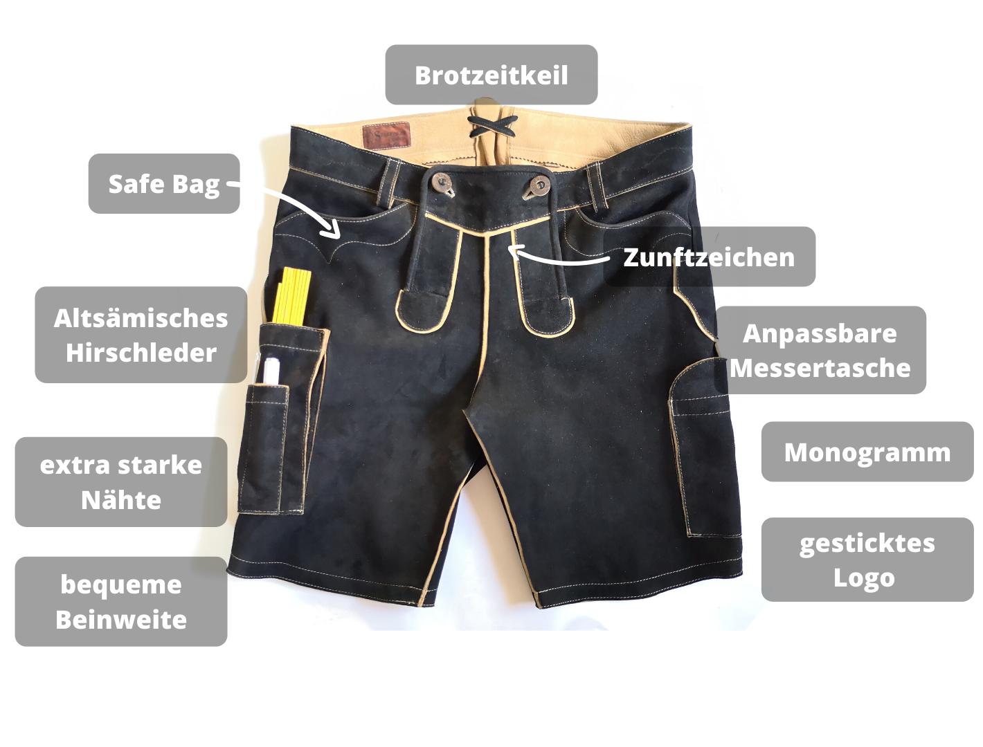 Lederhose für Handwerker Specials