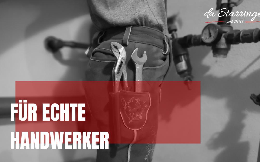 Lederhose für Handwerker