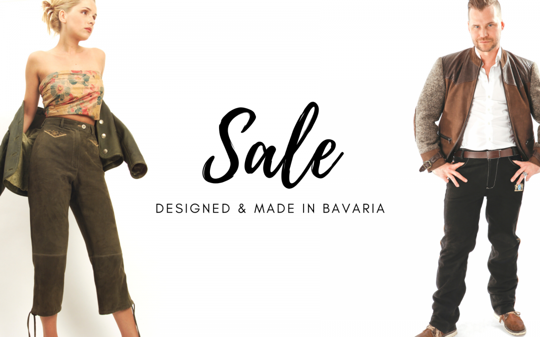 SALE – DESIGNED & MADE IN BAVARIA